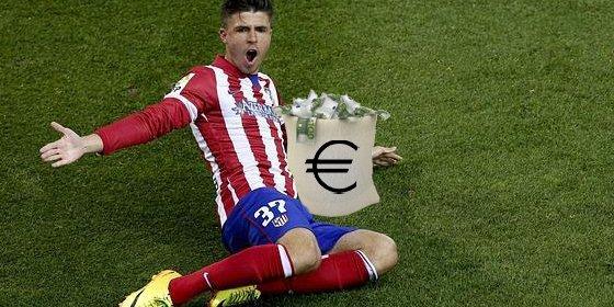 Si juega 3 partidos más, el Atléti pagará 750.000