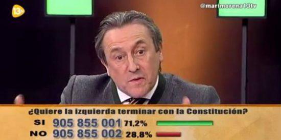 """Hermann Tertsch: """"La extrema izquierda en España tiene un acceso a las TV sin parangón en Europa"""""""