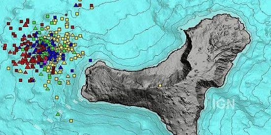 La isla canaria de El Hierro registra un seísmo de 5,1, el mayor desde 2011