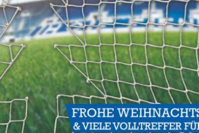La irónica felicitación navideña del Hoffenheim
