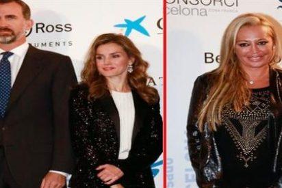 """Belén Esteban a la princesa Letizia: """"Si tú te ves mal en Nochevieja te vienes a casa"""""""