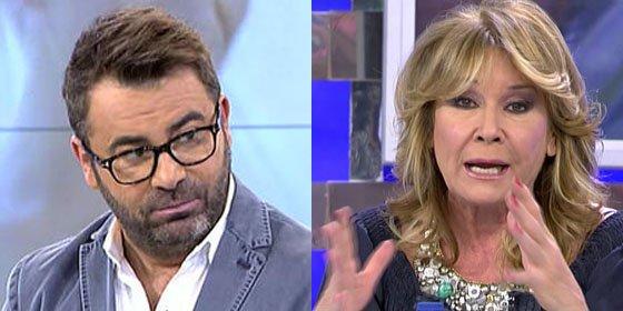 """Jorge Javier Vázquez y Mila Ximénez contra el marido de Rosa Benito: """"¡Pero qué hijo de puta es!"""""""