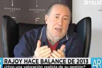 """Gay de Liébana tumba la euforia de Rajoy: """"La recuperación va a ser muy difícil por la boñiga económica que se ha acumulado"""""""
