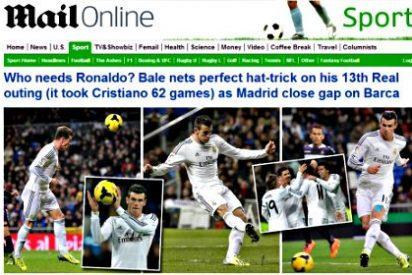 """La prensa mundial se rinde a los pies de Bale: """"¿Quién necesita a Cristiano Ronaldo?"""""""