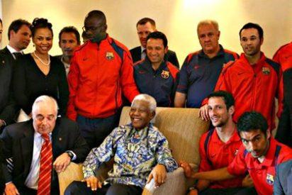 El día que el presidente del Barça y sus cracks menospreciaron a Mandela