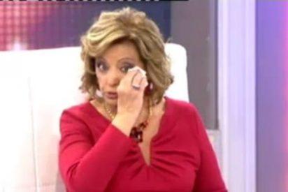 Las Navidades más tristes de María Teresa Campos: rompe a llorar en directo tras su condena y por los ataques a su hija