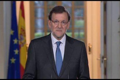"Mariano Rajoy: ""Digo sí a dialogar con todo el mundo pero no a dividir España"""