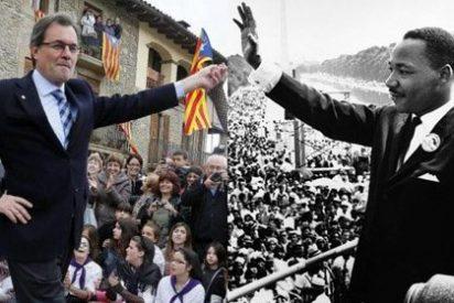 'Luther King' Mas compara la oposición a su consulta con los tiempos de la esclavitud