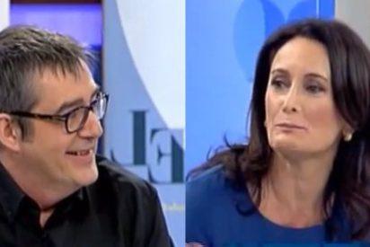 """Max Pradera de 'buen rollo' con Edurne Uriarte: """"Tú eres la musa de FAES, la niña bonita, ¿qué hay más a la derecha de FAES?"""""""