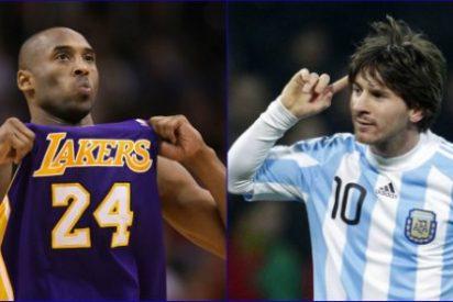Kobe Bryant reta a Messi