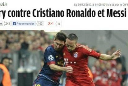 France Football se olvida de Cristiano Ronaldo