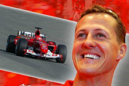 Michael Schumacher corre a toda velocidad entre la vida y la muerte
