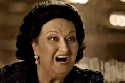"""Montserrat Caballé está molesta por el anuncio de la Lotería: """"Me veo horrorosa"""""""