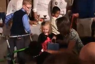 [Vídeo] El perro de Obama se lanza sobre una niña y le da un susto de aúpa