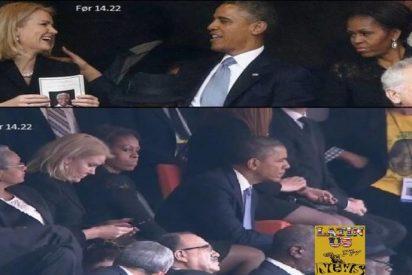 Las sonadas escenitas de celos de Michelle Obama por el 'coqueteo' de su marido con la rubia ministra