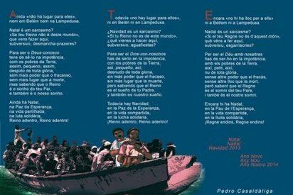 Navidad en Belén y en Lampedusa