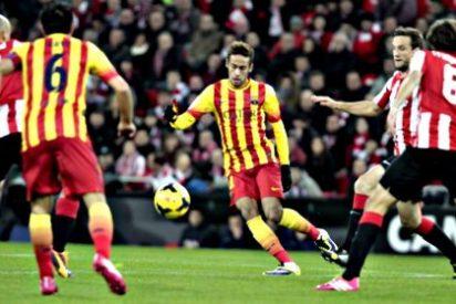 ¿Es gafe la 'senyera' catalana para el Barça?