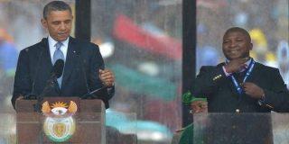El intérprete del funeral de Mandela dice que empezó a escuchar voces y que alucinaba como un loco