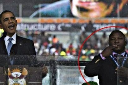 El impostor que hizo de intérprete para sordos en el funeral de Mandela se ha esfumado