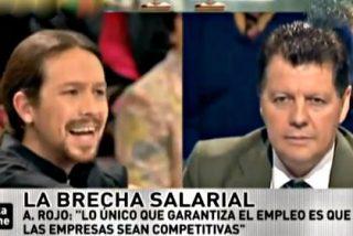 El tertuliano Pablo Iglesias, miembro de una fundación que recibe 320.000 euros anuales del Gobierno venezolano