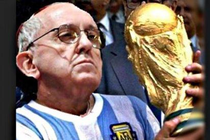 La televisión argentina utiliza al Papa para burlarse de Cristiano y los brasileños