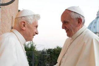 El Papa celebra la Navidad con el Papa