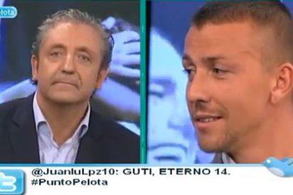 """Guti recuerda en 'Punto Pelota' cuando rechazó la oferta del Milan donde iba a cobrar el doble y Pedrerol le contesta: """"A mí en Intereconomía me pasó igual"""""""