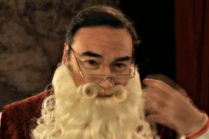 Pedrojota se quita la careta... de Papa Noel