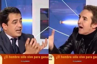 """Ramoncín muestra su peor cara amenazando fuera de cámara a otro tertuliano con darle """"una hostia"""""""