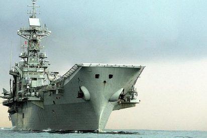 La Armada da de baja a su buque insignia: el Príncipe de Asturias