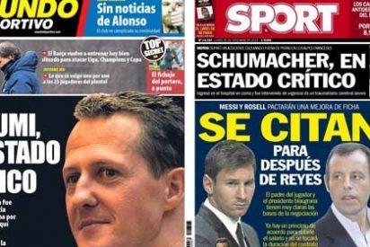 El Cataluña-Cabo Verde, sin sitio entre las portadas de los diarios catalanes