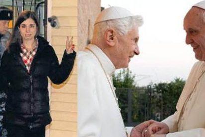 Las Pussy Riot, en más portadas que el Papa