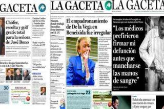 De Dávila a Fúster: las cinco portadas más polémicas de La Gaceta