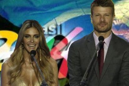 Los presentadores del Mundial se lo montan en un vídeo casero
