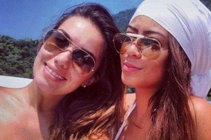 Así toma el sol la hermana de Neymar