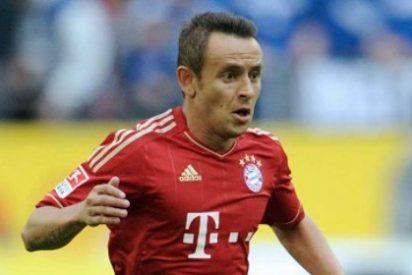 Rafinha jugará en el Bayern hasta 2017