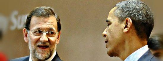 """Barack Obama a Mariano Rajoy: """"Te espero pronto en la Casa Blanca"""""""