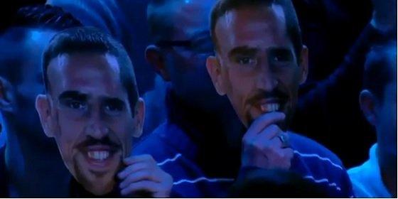 Francia apoya a Ribery