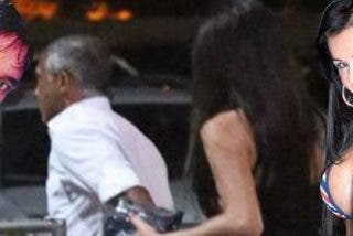 Fotografían a Romario con una 'mujer'