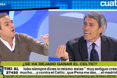 Lobo Carrasco pierde los papeles con Antonio Romero: