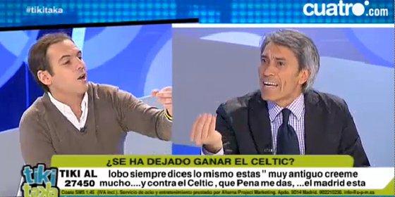 """Lobo Carrasco pierde los papeles con Antonio Romero: """"¡Modera tus palabras! Tú no eres nadie para decirme que me calle"""""""