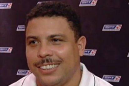 ¡Ronaldo se deja bigote!