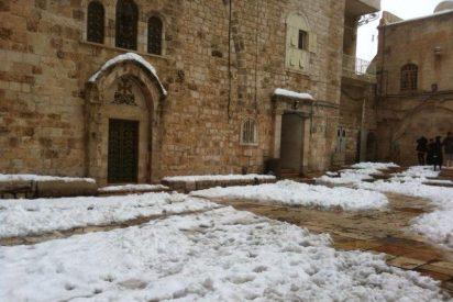 Jerusalén: Jesús entre la nieve
