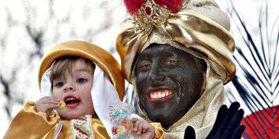 """Los vecinos de Madrid piden un rey Baltasar """"negro de verdad"""" y no un blanco pintado en la cabalgata"""