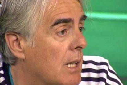 Siro López da una 'colleja' a Julián Redondo