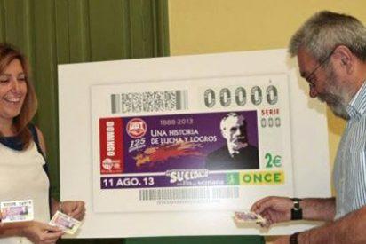 A UGT le toca la lotería con Susana Díaz: 7,8 millones más