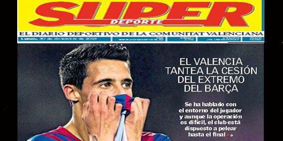 El Valencia también piensa en Tello