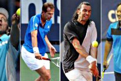 Becker, Edberg, Bruguera y Chang vuelven a las pistas de tenis... ¡como entrenadores!