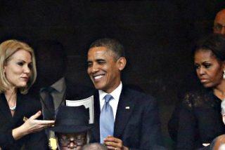 La explosiva primera ministra danesa defiende su 'selfie' con Obama y Cameron