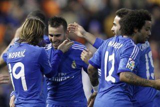 Cuando el Real Madrid estába asfixiado, Jesé salió, corrió y marcó y salvó la Liga